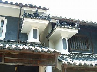 卯建(うだつ)の町、徳島県脇町